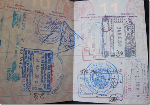 Passport Stamps 002