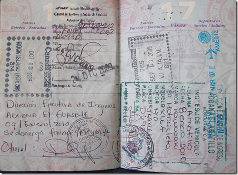 Passport Stamps 005