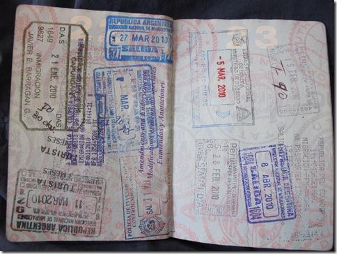 Passport Stamps 008