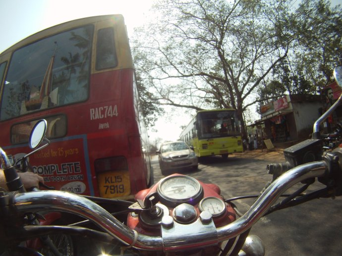 GoPro Motorcycle Photo in India