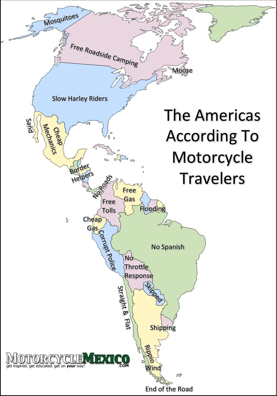 The Americas According To Motorcycle Travelers